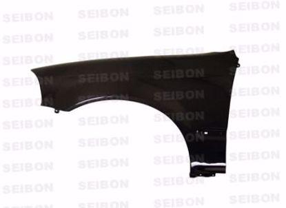 Picture of Seibon Carbon Fibre Front Wings Civic 96-98 2 3dr