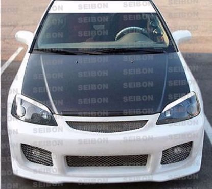 Picture of Seibon Carbon Fibre Hood Civic 01-03 EM2 Coupe OEM Style