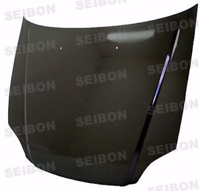 Picture of Seibon Carbon Fibre Hood Civic 99-00 OEM Style