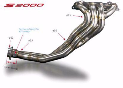 Picture of Toda Racing Exhaust Manifold Torqui Kun Spec