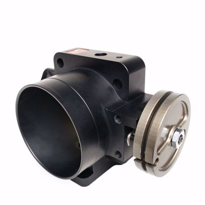 Picture of Skunk2 74mm Pro Series Billet Throttle Body K20A/A2 EP3/DC5 ENGINE BLACK ANODIZED