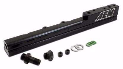 Picture of AEM High Volume Fuel Rail Civic Integra DelSol 88 00 B Series B16A