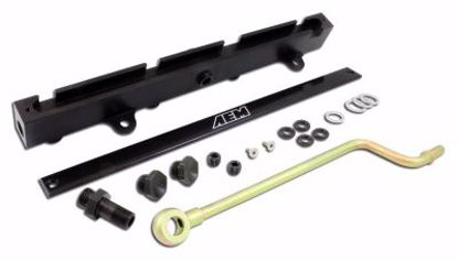 Picture of AEM High Volume Fuel Rail K Series K20 DC5 EP3