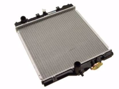 Picture of OE Replacement Civic Del Sol 92 00 D Series Radiator Multifit 28mm input output