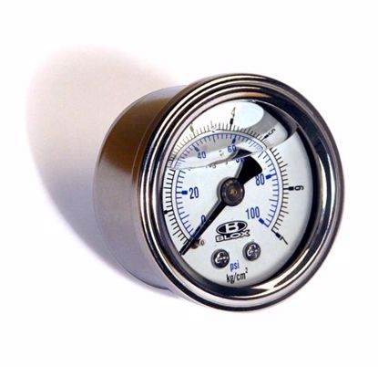 Picture of Blox Racing Fluid Filled Fuel Pressure Gauge Honda all