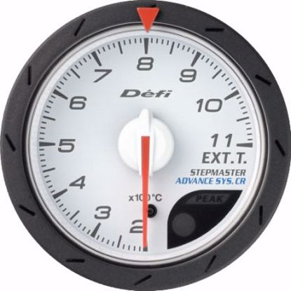 Picture of Defi Advance CR EGT Gauge White Face 60mm