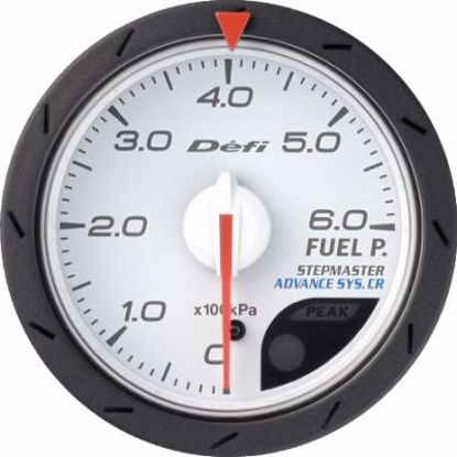 Picture of Defi Advance CR Fuel Pressure Gauge White Face 60mm