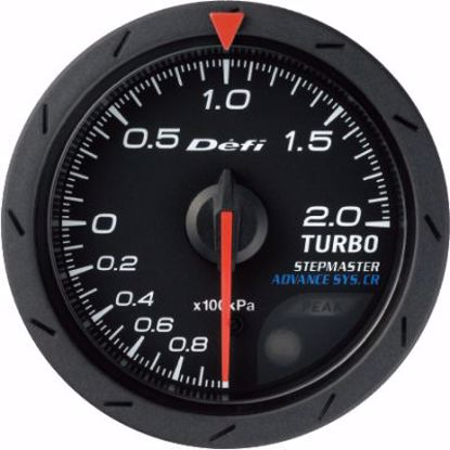 Picture of Defi Advance CR Turbo Gauge 200kPa Black Face 52mm