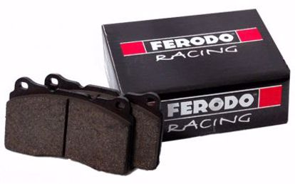 Picture of Ferodo DS2500 Brake Pads Honda Civic 92 to 00 with 262mm stock discs FRONT