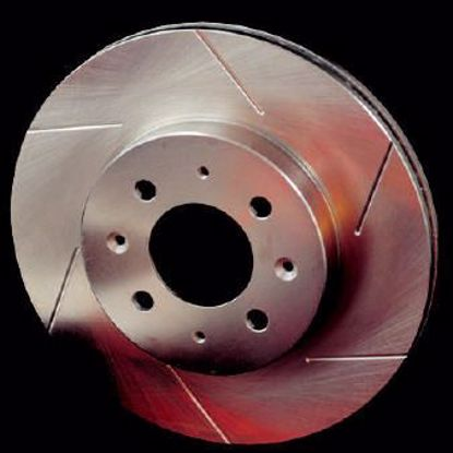 Picture of Stoptech Powerslot Grooved Performance Discs Civic Type S / 1.4 / 1.8 / 2.2 CTDI 5X114 3 Front oem 282mm