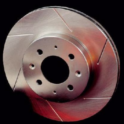 Picture of Stoptech Powerslot Grooved Performance Discs Prelude 92 to 97 / Civic MB6 VTI  FRONT
