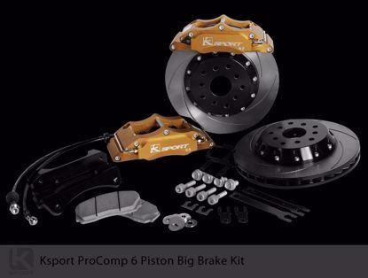 Picture of K Sport Big Brake Kit Civic EJ EK 96 00 oe 242 4X100 6 POT 304mm
