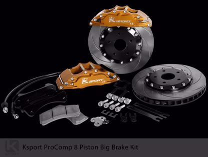 Picture of K Sport Big Brake Kit CE Accord 94 to 97 4x114 3 8 POT 330mm