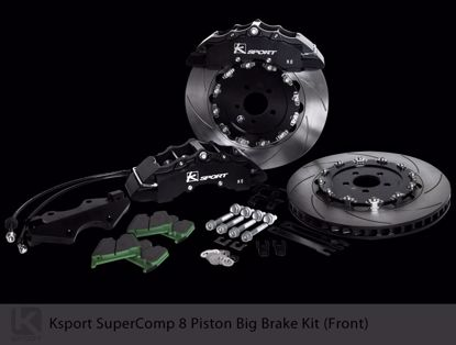 Picture of K Sport Big Brake Kit Supercomp Accord CL7/ CL9 oe 300 5X114.3 8 POT 380mm