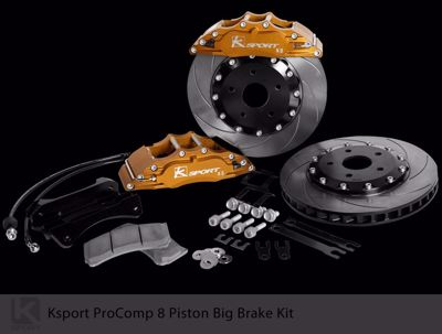 Picture of K Sport Big Brake Kit Accord CL1/CH1 98-02 5x114.3 8 POT 356mm