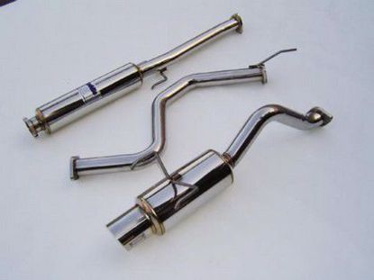 Picture of Invidia N1 Stainless Steel Exhaust System Accord Coupe 98-01 4cyl