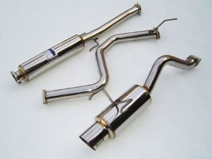 Picture of Invidia N1 Stainless Steel Exhaust System Civic 96-00 H/B EK