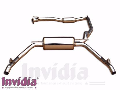 Picture of Invidia Q300 Stainless Steel Exhaust System Civic Type R FN2