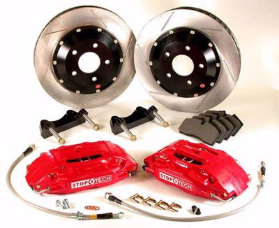 Picture of Stoptech Big Brake Kit 4 POT Civic Type R FN2 07-10 5x114 3 328x28 300oe