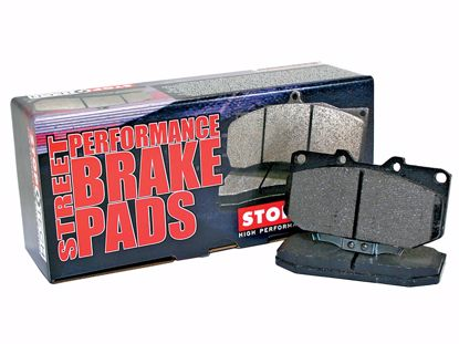 Picture of Stoptech Street Performance Brake Pads Civic / DelSol 92-00 242mm Disc Non Abs FRONT