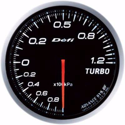 Picture of Defi Advance BF Turbo Boost Gauge 120kpa 60mm White Illumination