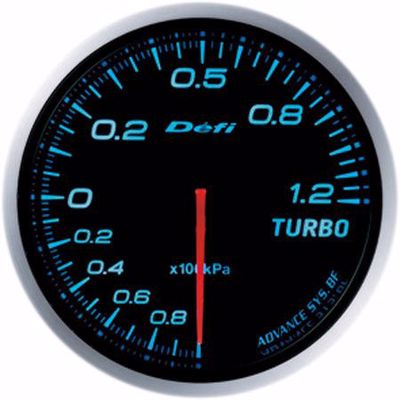 Picture of Defi Advance BF Turbo Boost Gauge 120kpa 60mm Blue Illumination