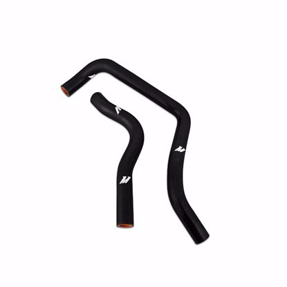 Picture of Mishimoto Silicone Hoses Integra Type R DC2 94-01/Civic/DelSol 92-00 B-Series (Black/Red)