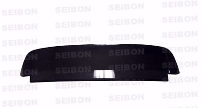 Picture of Seibon Carbon Fibre Spoiler Civic 92-95 hb Spoon Style With Brake Light