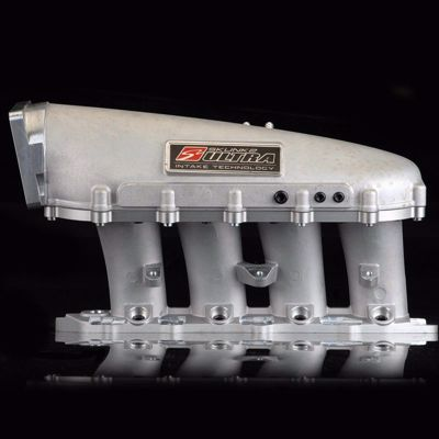 Picture of Skunk2 Ultra Series Intake Manifold B-Series ALL B16A/B18C/B18C4/B18C6/B18C-R JDM 3.5L SILVER SPACER