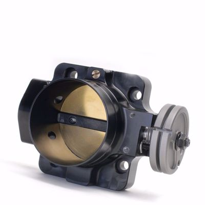 Picture of Skunk2 70mm Pro Series Billet Throttle Body D / B / H / F SERIES ENGINE BLACK ANODIZED