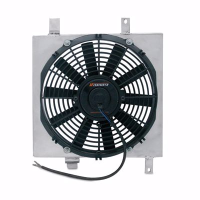 "Picture of Mishimoto Aluminium Fan Shroud Kit Integra 90-93 DA 12"" Single Fan"