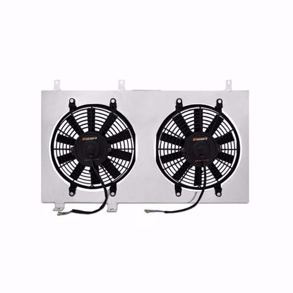 "Picture of Mishimoto Aluminium Fan Shroud Kit S2000 F20C Twin 12"" Fans"