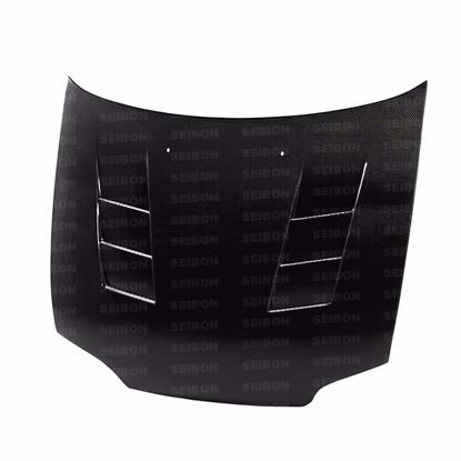 Picture of Seibon Carbon Fibre Hood Honda Civic 92-95 2/3 Door TS Style