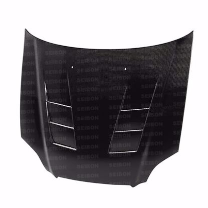 Picture of Seibon Carbon Fibre Hood Honda Civic 96-98 2/3/4 Door TS Style
