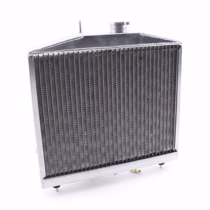 Picture of Hybrid Racing Griffin K-Swap Radiator Civic 92-95 / DelSol 92-97 HALF SIZE
