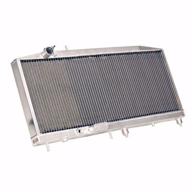 Picture of Hybrid Racing Griffin K-Swap Radiator Civic 96-00 FULL SIZE