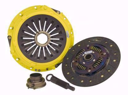 Picture of ACT Full Face Organic Clutch Kit Stage 1 B Series Cable Clutch 88 to 91 219lbsft perf street disc