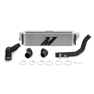 Picture of Mishimoto Honda Civic Type R Performance Intercooler Kit 2017+, silver core, black piping