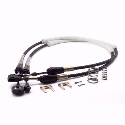 Picture of HYBRID RACING 9TH GEN CIVIC PERFORMANCE SHIFTER CABLES (12-15 CIVIC SI)