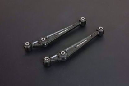 Picture of HARDRACE OE STYLE USDM REAR LOWER CONTROL ARM WITH HARDENED RUBBER BUSHES 2PC SET HONDA CIVIC EG 92-96