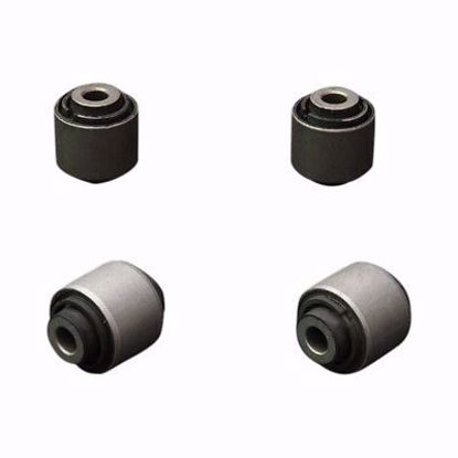 Picture of HARDRACE HARDENED RUBBER REAR REAR LOWER ARM BUSHES 4PC SET HONDA ACCORD 98-07