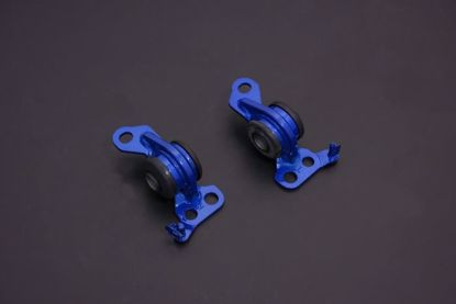 Picture of Hardrace Front Compliance Bushing Harden Rubber Offset/Increase Caster (2 Piece Set) Honda Civic 92-95/Integra 94-00