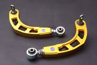 Picture of HARDRACE GOLD ADJUSTABLE REAR CAMBER KIT V2 WITH HARDENED RUBBER BUSHES 2PC SET HONDA CIVIC FD SI 06-11