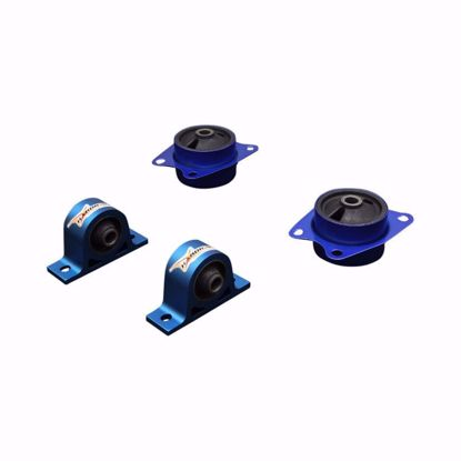 Picture of HARDRACE REINFORCED DIFFERENTIAL MOUNT WITH HARDENED RUBBER BUSHES 4PC SET HONDA S2000 AP1 AP2 99-09
