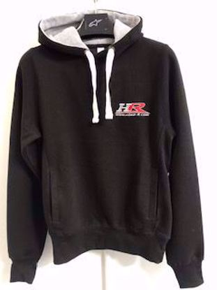 Picture of Hond-R heavyweight, embroidered logo hoody
